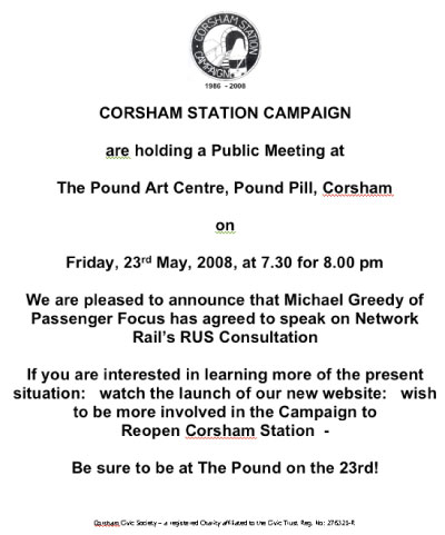 Corsham Campaign Meeting