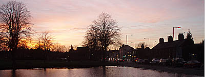 Crammer, Devizes, at Sunset
