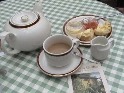Cream Tea at Iford