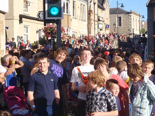 Go at the Melksham Carnival