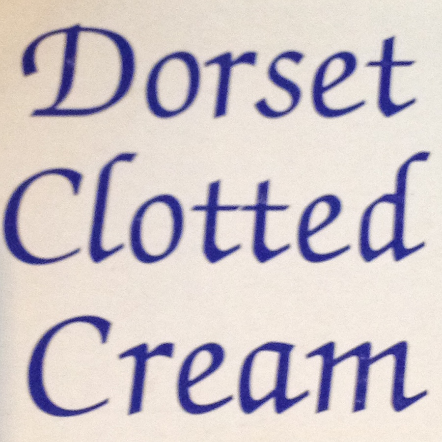 I used to think of Devon not Dorset for clotted cream