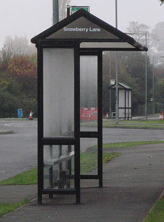 Bus stops close together