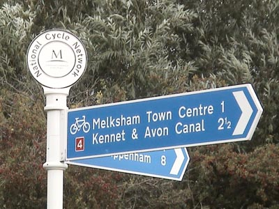 The National Cycleway in Melksham