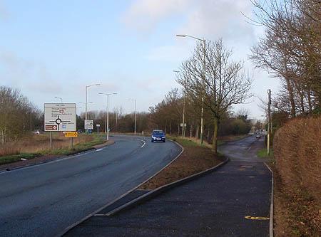 Melksham Oak - improved footpath