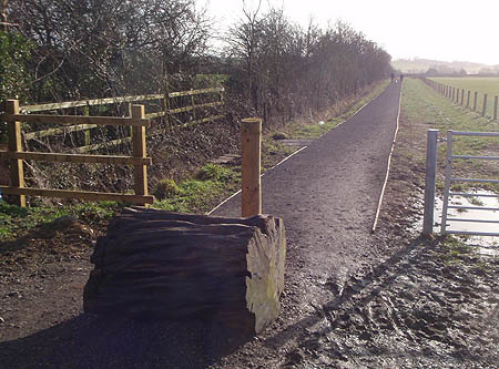 New Cycle way in Melksham