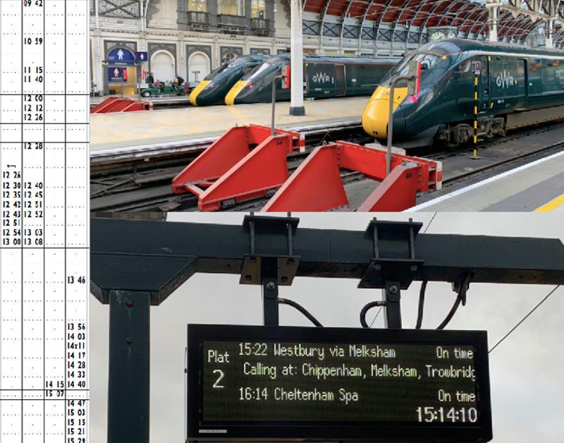 Train Graphic