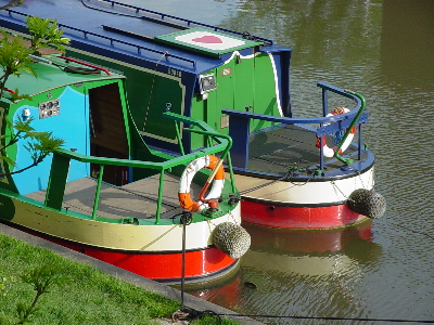 Boats photographed at Devizes Wharf