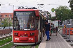 Tram in Nurnberg