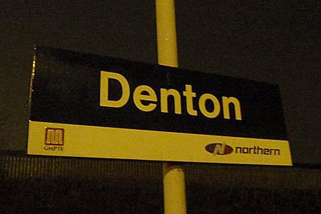 Station Sign, Denton
