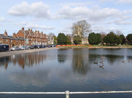 The Crammer pond in Devizes