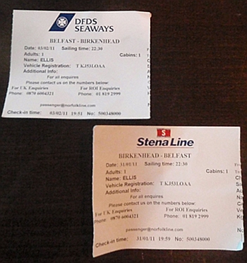 Change from DFDS to Stena