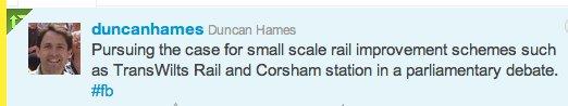 Duncan Hames Tweet