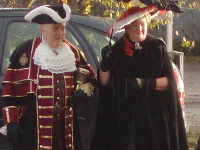 Melksham Town Crier and Escort