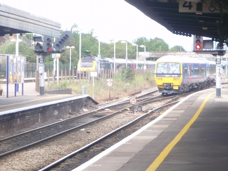 Missed connection at Didcot Parkway!