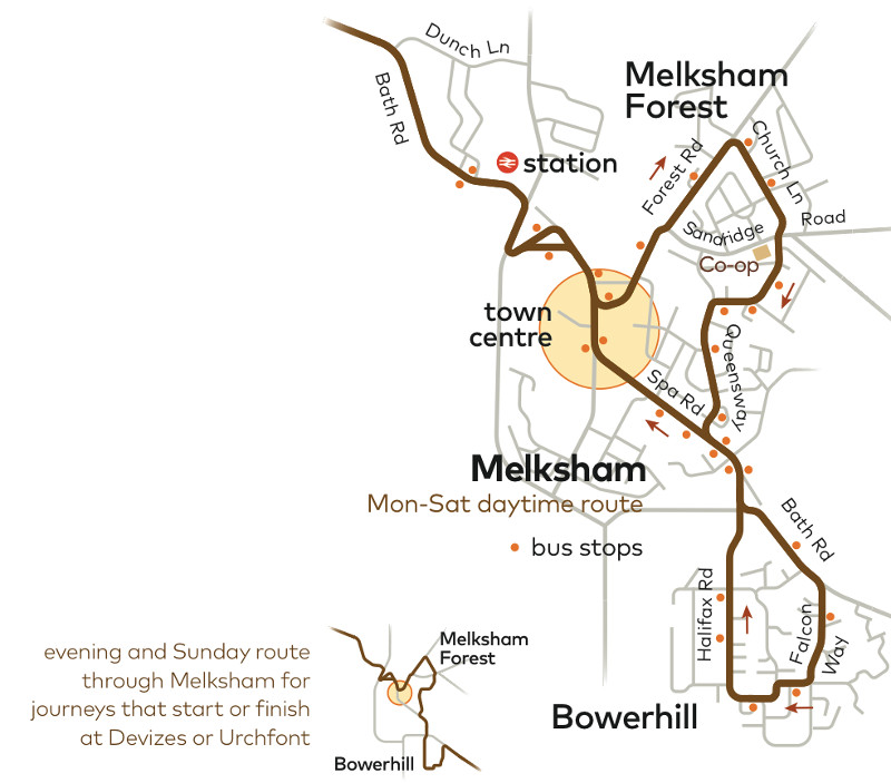 Melksham To Bath New Times For D3 Bus Service From 10th