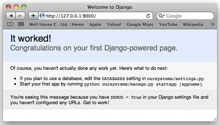 First Install - Django