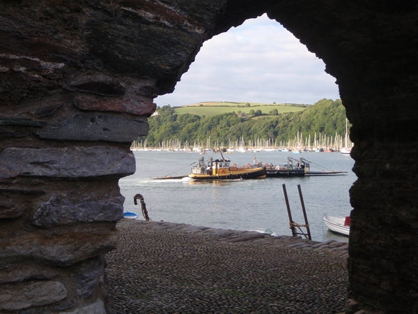 Baynards Cove Fort and the Lower Ferry