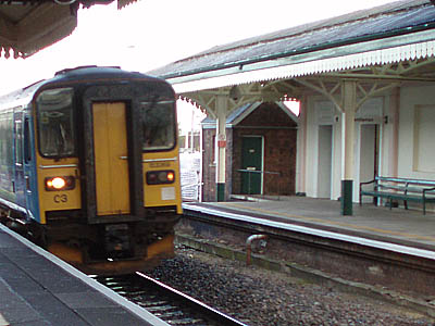 Train at Chippenham