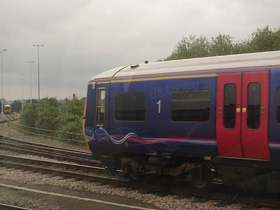 First Great Western Train at Reading