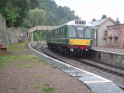 Parkend station, Forest of Dean Railway