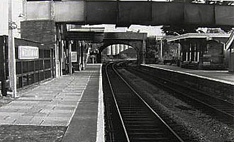 Melksham Station in the early 1960s