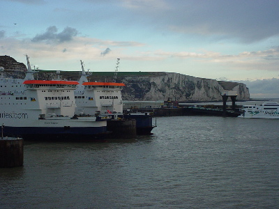 Early Morning at Dover, and the White Cliffs