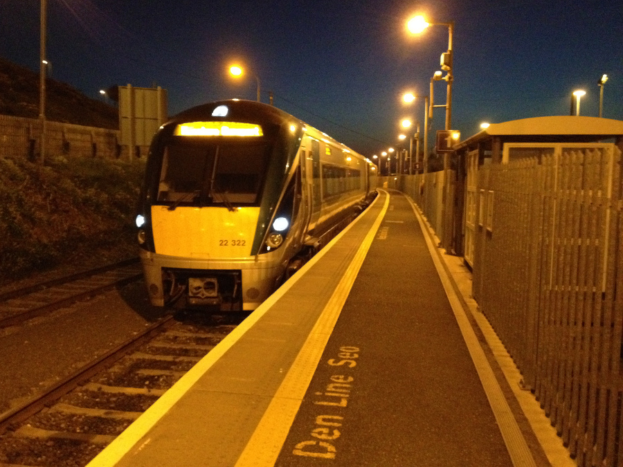 Rosslare Europort new station.