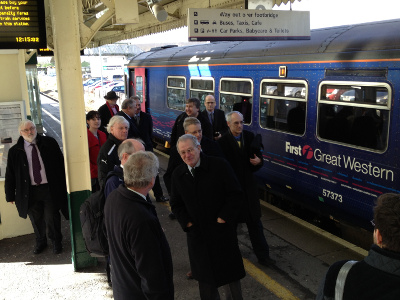 Special trip at Chippenham