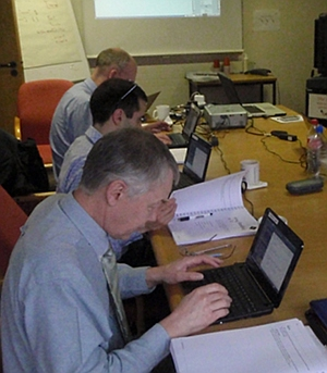 delegate on tcl course, March 2011