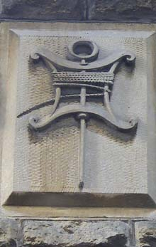 Trade symbol, masonic hall, Melksham