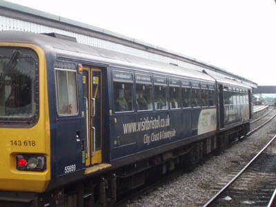 Swindon train at Westbury