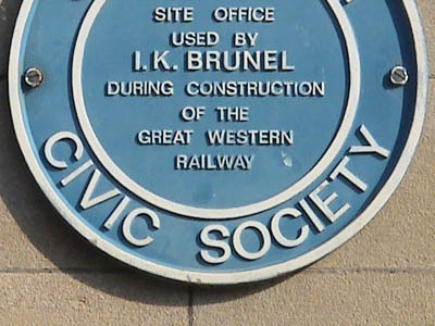 Plaque at Chippenham Station