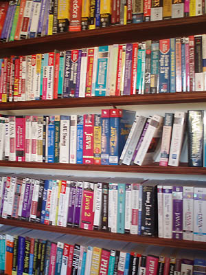 Part of the Open Source Library at Well House Manor