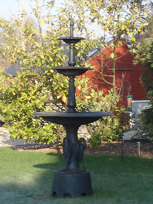 Fountain at Well House Manor