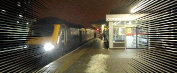 Train at Swindon