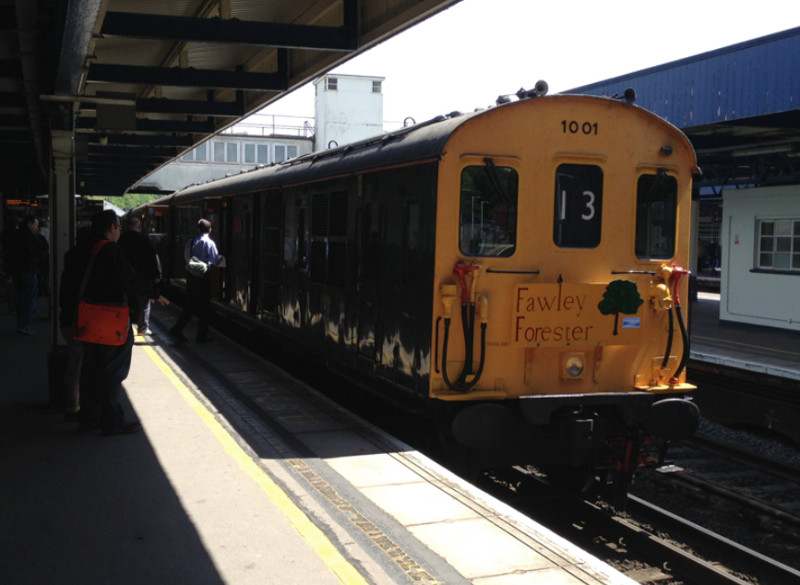 Hastings Diesel at Southampton Central