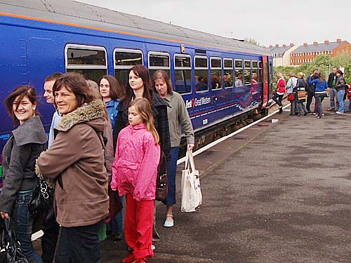 First Great Western Train at Melksham