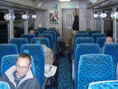 The last commuter train from Swindon to Westbury