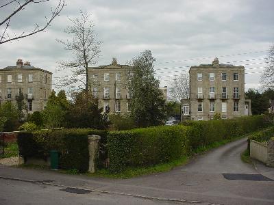The old Spa Houses, Melksham