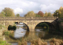 River Avon in Melksham