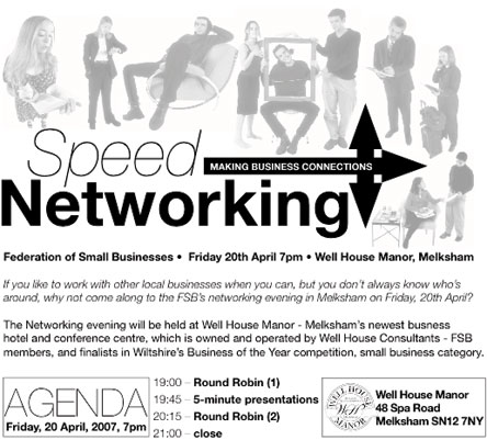 Speed Networking (top half)