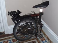 We have cycle facilities at Well House Manor