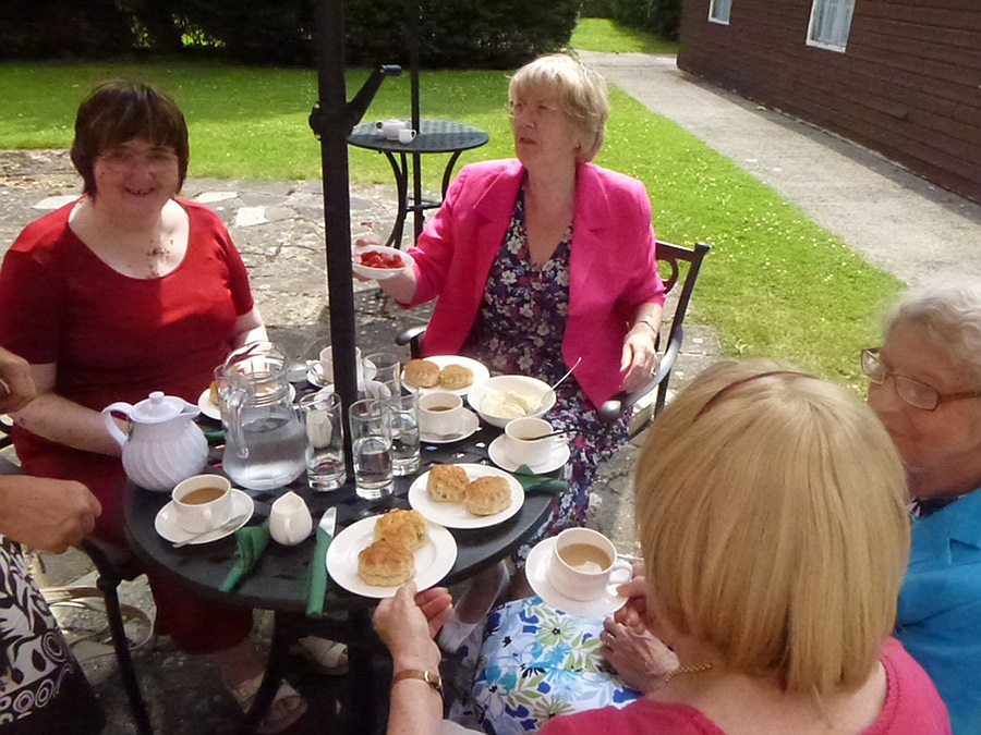 Cream Teas in the Garden