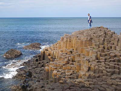 Basalt Columns at Giants Causeway