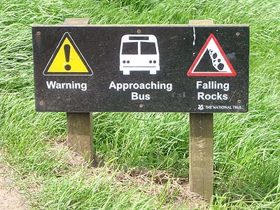 Beware of Rocks and Buses