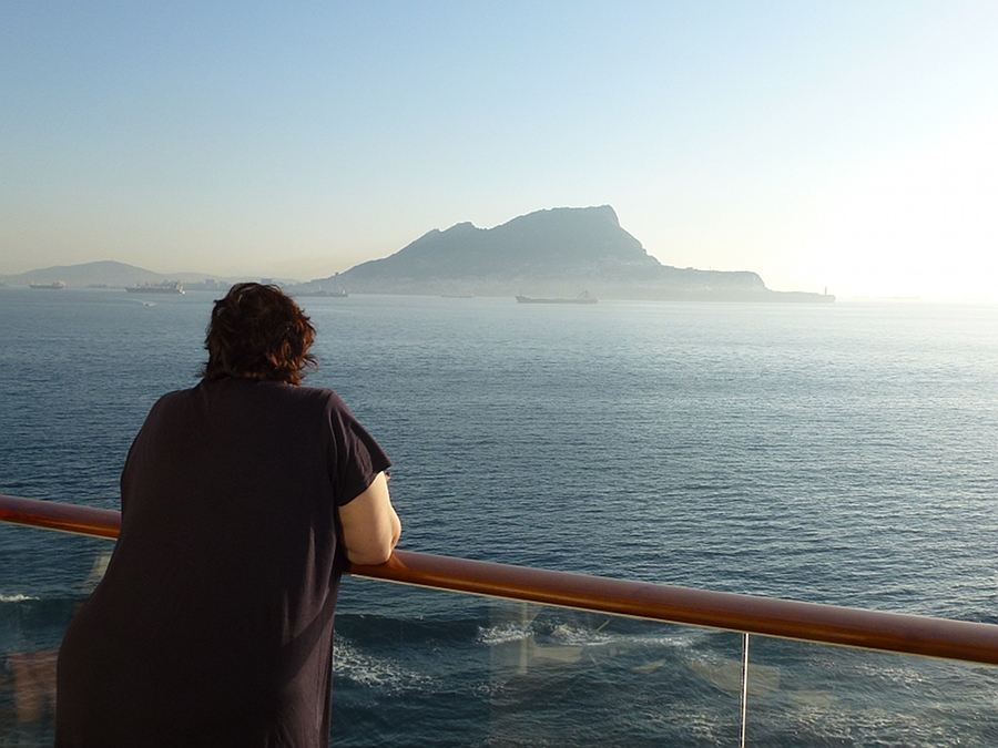 Cruising into Gibraltar