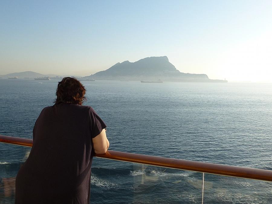 Cruising into Gibraltar