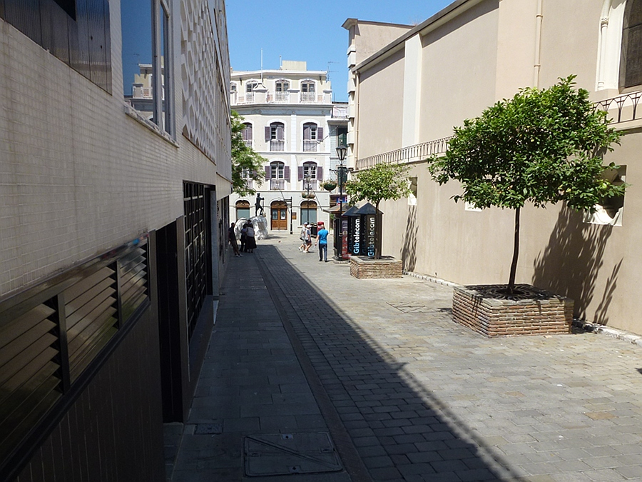 Back Street in Gibraltar