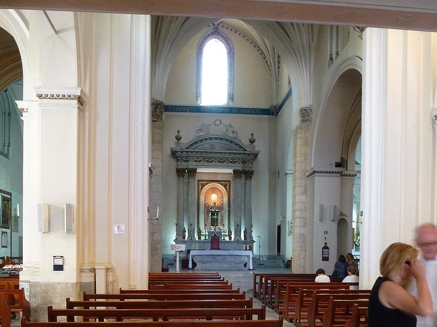 In a Gibraltar Church