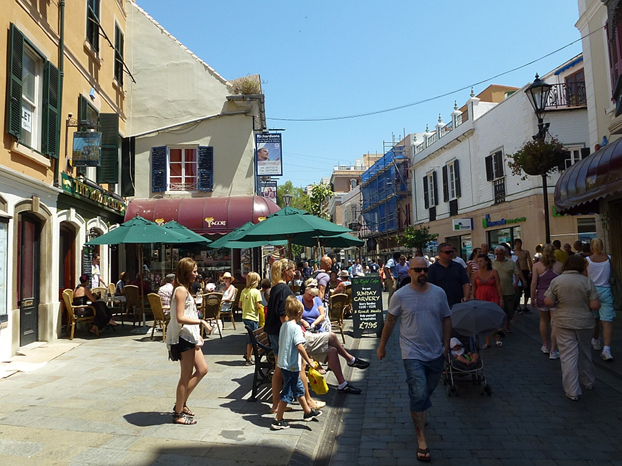 High Street Gibraltar
